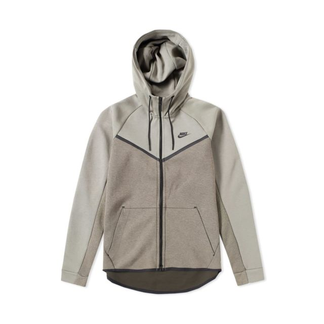 Nike - Sweat à capuche Nike Sportswear Tech Fleece Windrunner - 885904-004 3f7d4dcc23ec