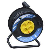 I-watts Pro - Enrouleur 4 Prises - H05 - 3G1.5Mm2 -40M