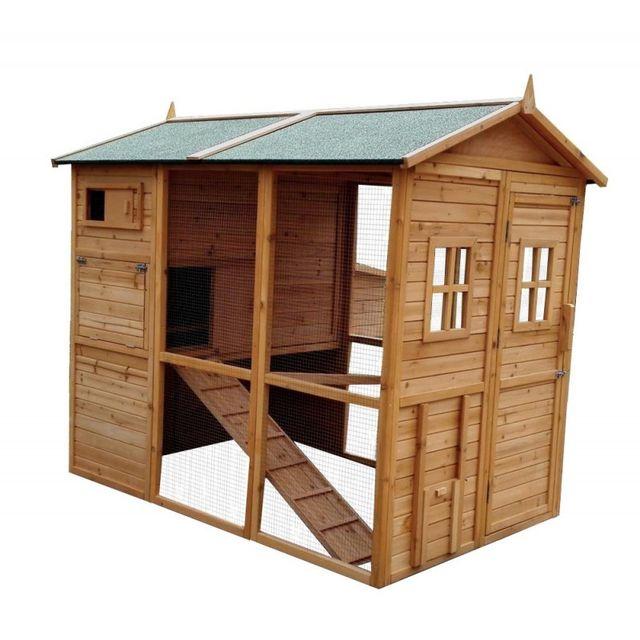 marque generique poulailler gaulois ii pas cher achat vente poulailler rueducommerce. Black Bedroom Furniture Sets. Home Design Ideas