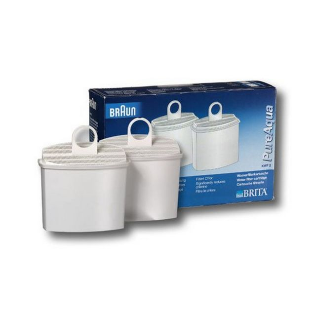 braun pack de 2 cartouches filtrantes eau brita kwf2. Black Bedroom Furniture Sets. Home Design Ideas