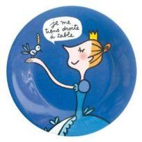 Petit Jour Paris - Assiette à dessert je me tiens droite - Petit Jour