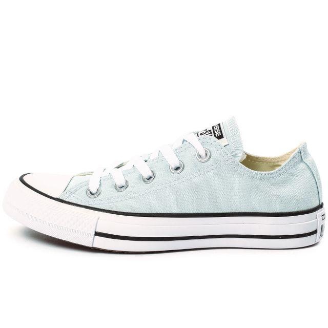 2cfdc50828189 Converse - Chuck Taylor All Star Low Bleu Ciel - pas cher Achat ...
