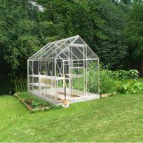 Halls - Serre Silver Popular en verre horticole - Modèle : 86 Surface : 5.0 m²