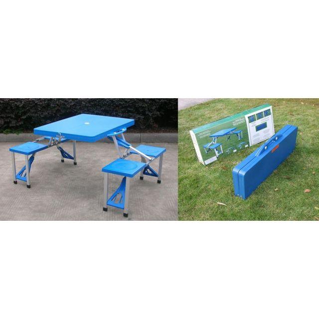 Rue Commerce Pliante Pique X Valise Bleu 84 Nique Du 64 Table Kc1TlJ3F