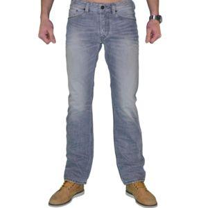 Diesel jean homme viker 8qp gris clair d lav pas cher achat vente jeans homme - Jean gris clair homme ...