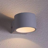 Kosilum - Lampe murale sphérique Led aluminium – Dro