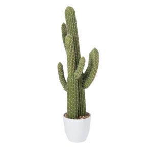 J line cactus artificiel 85 cm pas cher achat for Plantas artificiales carrefour