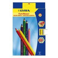 Lyra - L3941120 Etui de 12 crayons Assortis