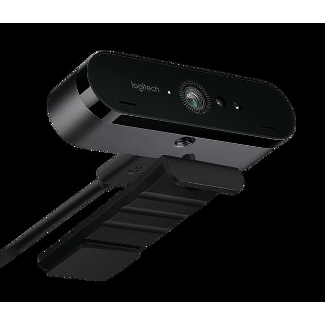 LOGITECH Webcam 4K Ultra HD avec RightLight™ 3 avec image HDR UNE NOUVELLE RÉFÉRENCE EN TERMES DE WEBCAMS