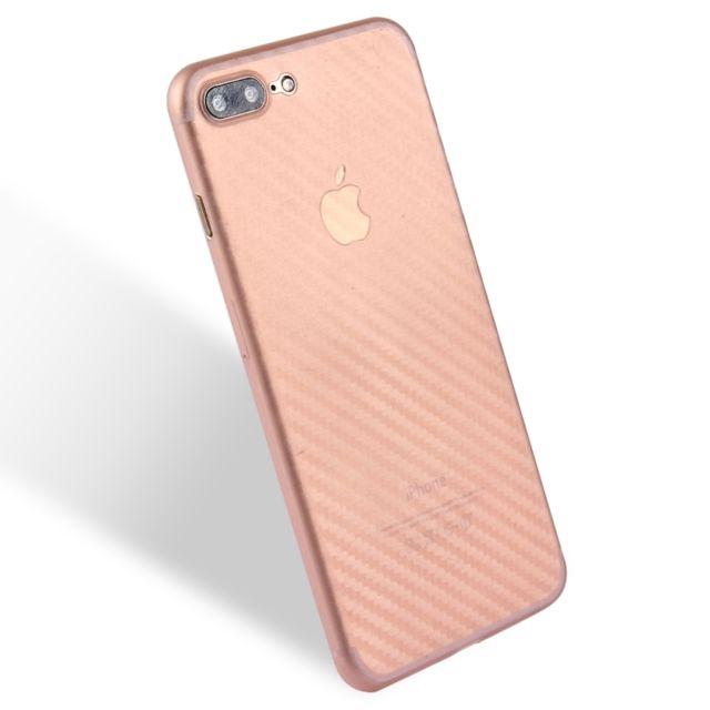 coque iphone 7 carbone rose