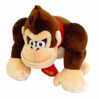 Aucune - Mario Peluche Mario Bros 24cm Small Donkey Kong