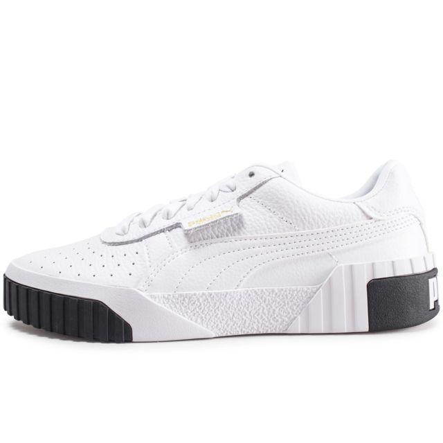 chaussures puma blanche femme