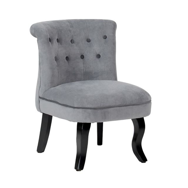 Altobuy Harry - Fauteuil Gris / Anthracite