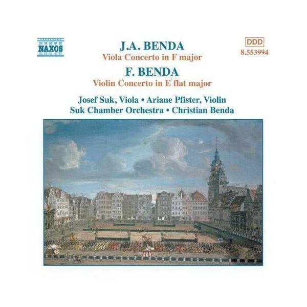 Naxos - Benda - Concerto pour Alto en fa majeur