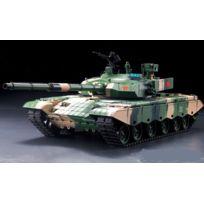 Heng-Long - CHAR D'ASSAUT RC 1/16 ZTZ 99 MBT COMPLET BRUIT / FUMEE