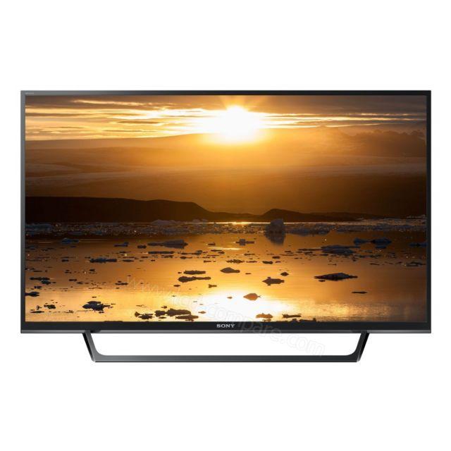 sony tv led 32 80 cm kdl 32re400 noir pas cher achat. Black Bedroom Furniture Sets. Home Design Ideas