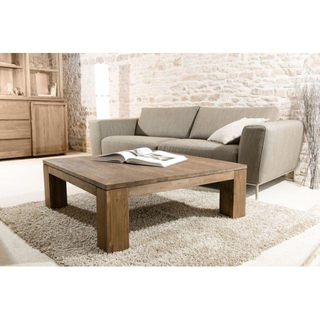 magasin en ligne 8fbac 4531c Table basse 100 x 100 cm basic