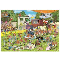 Jumbo - Puzzle 150 pièces : Jan Van Haasteren : Chaos sur le terrain