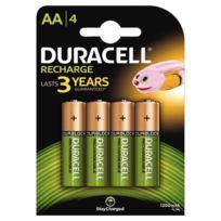 Duracell - Blister de 4 accu aa 1300a plus power