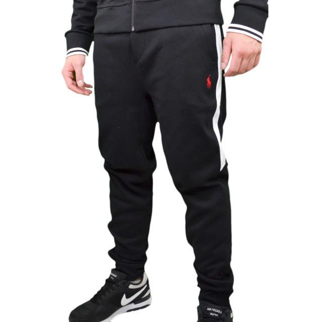 b498e941caa929 Ralph Lauren - Pantalon de jogging noir pour homme XL - pas cher Achat    Vente Pantalon homme - RueDuCommerce