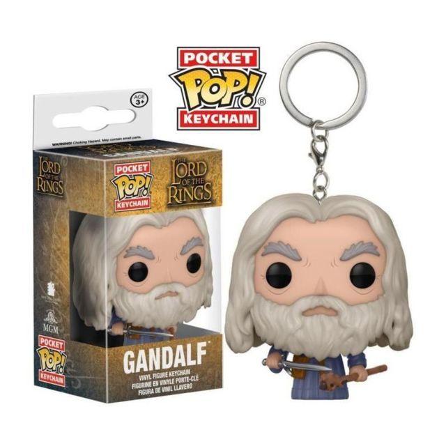 0bf3238502a7 Funko - Porte-clé Pop! Le Seigneur des Anneaux   Gandalf - pas cher ...