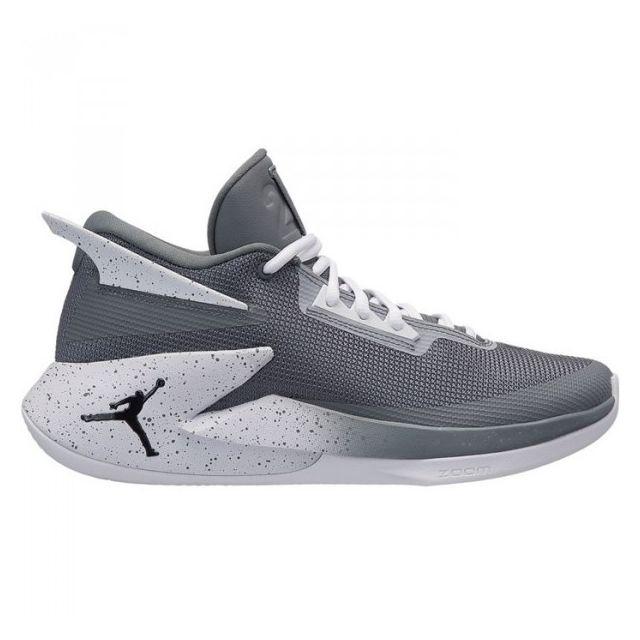 Gris Pour Jordan Homme Chaussure Basketball De Fly Lockdown 3q4Rc5AjL