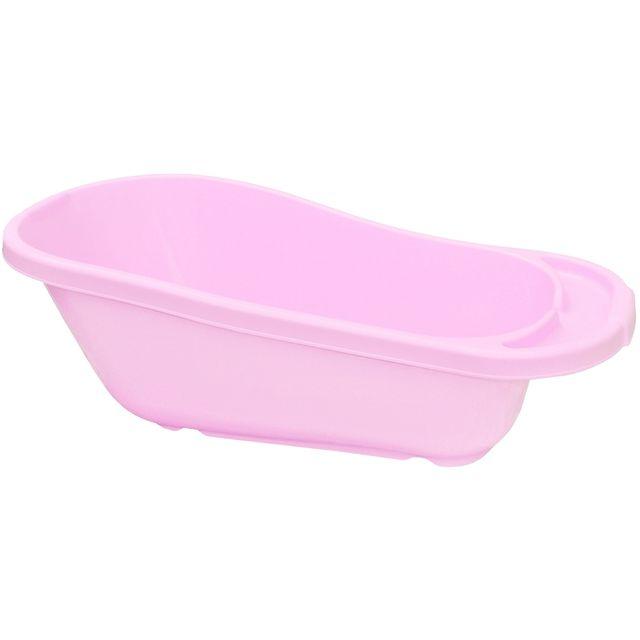 Promobo baignoire pour toilettes b b avec si ge appuie t te s curite rose pas cher achat - Carrefour baignoire bebe ...