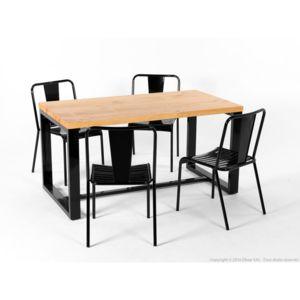 Ensemble Table Manger Ian Et Ses 4 Chaises Jacob Pas