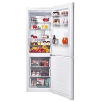 Candy - Ckcn 6182IX/1 Réfrigérateur combiné - 309L 216L + 93L Froid total no frost - Classe A+ - L60.3 x H185.5cm - Inox