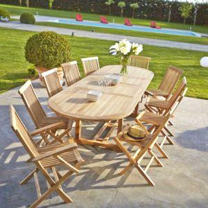 bois dessus bois dessous salon de jardin en bois de teck. Black Bedroom Furniture Sets. Home Design Ideas