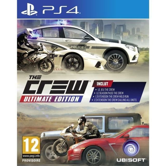 UBISOFT - THE CREW ULTIMATE - PS4