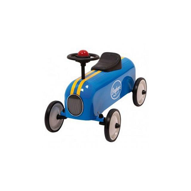 Baghera - Porteur Racer Bleu - pas cher Achat   Vente Chevaux à bascule,  porteurs - RueDuCommerce 97070adc356