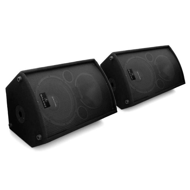 MALONE Auna Pack enceintes sono actives 30cm 2x 1100W