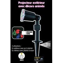 No name projecteur led no l multi effets lumi re de couleurs en mouvement ext rieur ou for Projecteur etoile exterieur