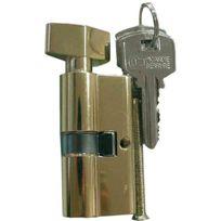 Carmine - Cylindre de sureté double à bouton 30 x 30 mm