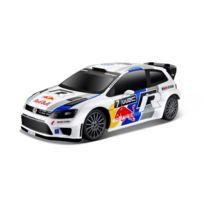 Maisto Tech - Voiture radiocommandée Echelle 1/24 : Volkswagen Polo Wrc Red Bull