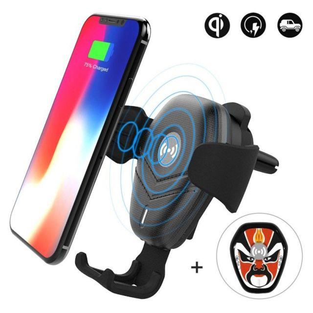 dokphone support t l phone voiture chargeur qi sans fil. Black Bedroom Furniture Sets. Home Design Ideas