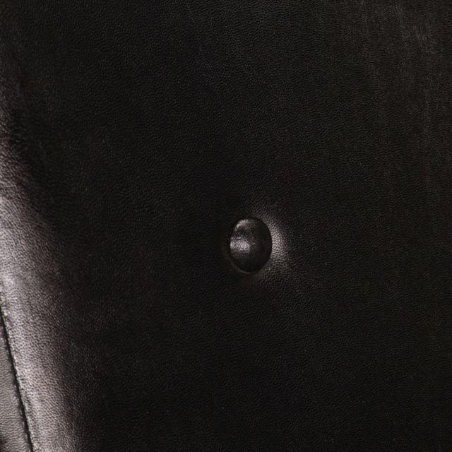 Icaverne - Fauteuils ensemble Fauteuil Noir Cuir véritable