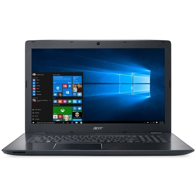 ACER PC portable Aspire E5-575G-51ZN - Intel Core i5-7200U - RAM 4Go - HDD 1To - NVIDIA GTX 950M - Ecran 15,6