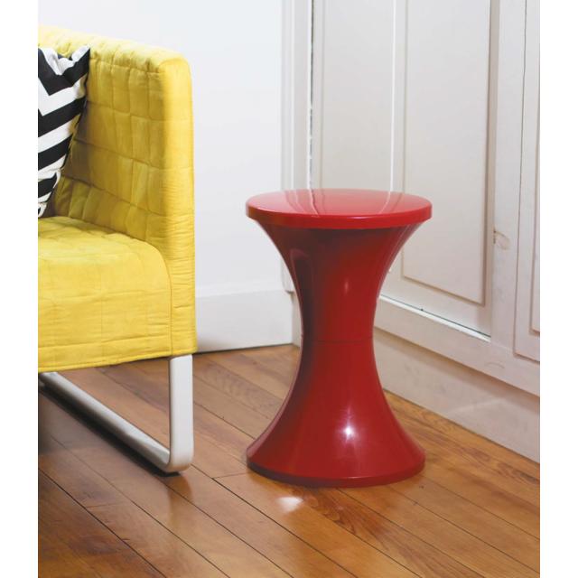 stamp tabouret tam tam rouge pas cher achat vente chaises de jardin rueducommerce. Black Bedroom Furniture Sets. Home Design Ideas