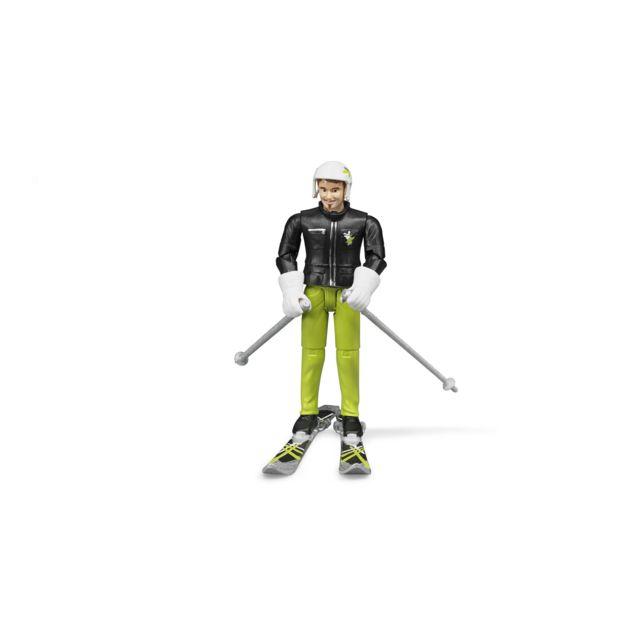 Bruder Skieur avec Accessoires