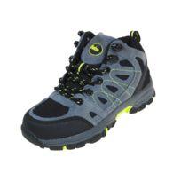 Lhoste - Chaussures marche randonnées Edelweiss anth/nr jr Gris 61106