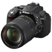 Nikon - Appareil photo Réflex Numérique D5300 24.2 Mp - Ecran 3.2' - Vidéo Full Hd - Wi-Fi + Objectif Af-s Dx Nikkor 18-140MM F/3.5-5.6G Ed Vr