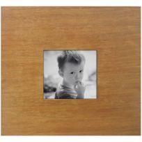 BARCLER - Cadre photo en bois 1 miniature exotique