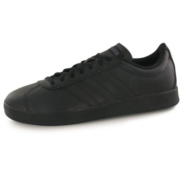 Adidas Neo Vl Court Vulc 2.0 noir, baskets mode homme
