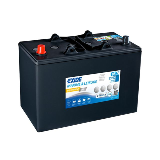 Batterie décharge lente Exide Gel ES1000 6 6v 195ah