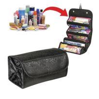 Wewoo - Organisateur multifonctionnel maquillage sac cosmétique noir