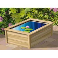 UBBINK - Cadre en bois décoratif pour bassin Quadra C3