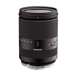 tamron objectif 18 200 mm f 3 5 6 3 di iii vc b011emb noir pour eos m garanti 5 ans pas cher. Black Bedroom Furniture Sets. Home Design Ideas