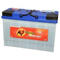 Banner - Batterie Camping car Décharge lente Energy Bull 95901 12v 115ah